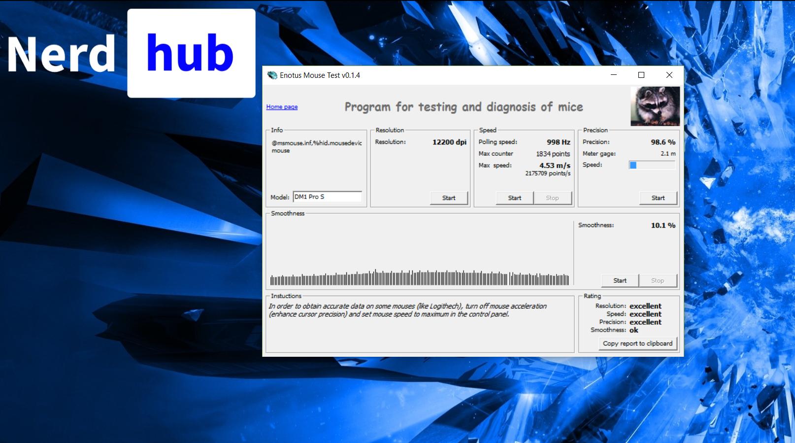 DreamMachines DM1 Pro S - recenzja myszy - NerdHub